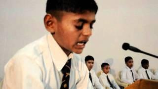 Sainik School Bijapur Kannada Declamation Jrs Aug 2011Bheemanagouda 4505 Adl VIII Stdavi
