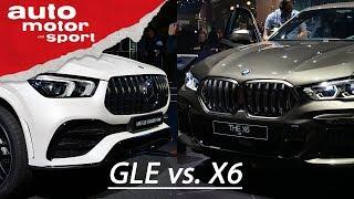 IAA 2019: BMW X6 vs. Mercedes GLE Coupé - Die neuen SUV-Coupés im Vergleich I auto motor und sport