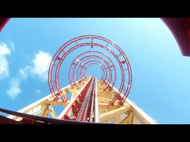 Universal Hollywood Rip Ride Rockit HD POV Universal Studios Florida Roller Coaster