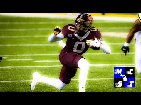 (NFL DRAFT SPOTLIGHT) Minnesota Wr Rashod Bateman!!