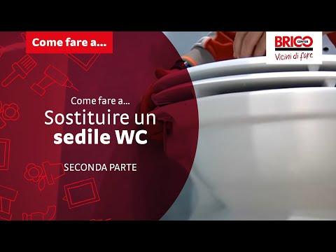 Come fare a... sostituire un sedile WC - Seconda parte