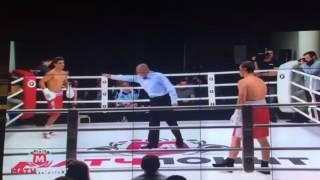 Shohjahon Ergashev vs Marat Khuzeev - TKO1