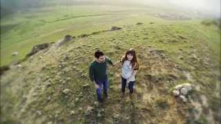 Курбан и Эльмира (съемка с воздуха)