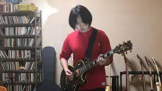 momo 17years old「Castles In Spain」 THE ARMOURY  SHOW  guitar cover