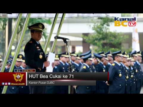 Peringatan HUT Direktorat Jenderal Bea & Cukai ke-71