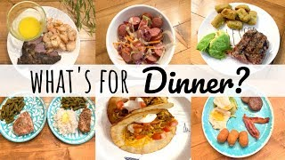 WHAT'S FOR DINNER | FAMILY MEAL IDEAS | KETO FRIENDLY MEALS | LIVING IN THE MOM LANE