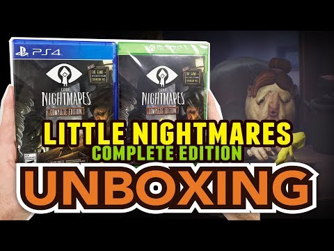 Little Nightmares Complete Edition(PS4/Xbox One) Unboxing !!