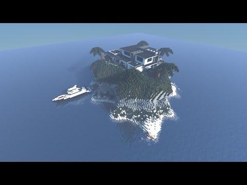 Private Island Minecraft Project