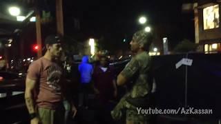 Military slap (Slapped for saying he