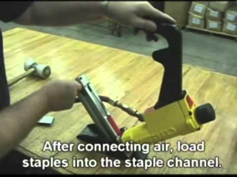 Powernail Model 445FS PowerStapler Care and Maintenance
