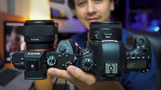 Sony 50mm vs Canon 50mm f1.8 REVIEW