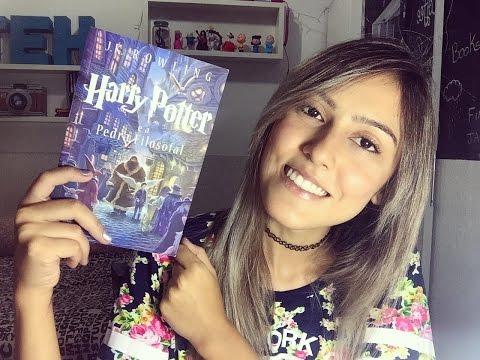 Lendo Harry Potter e a Pedra Filosofal ~ #NuvemEmHogwarts