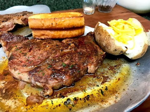 Sizzling Steak With Fresh Compound Butter ~ Steak Bed Review