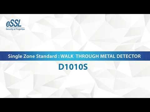 D3180S 18 Zones Walk Through Metal Detector