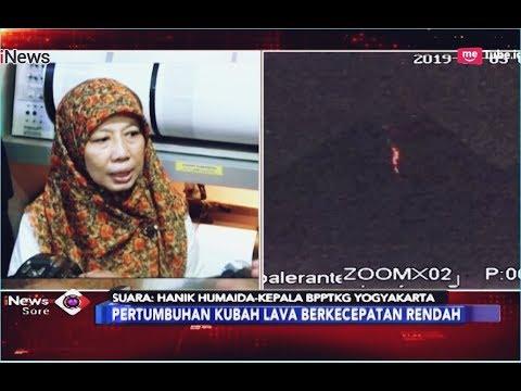 BPPTKG DIY: Ada Pertumbuhan Kubah Lawa Gunung Merapi - iNews Sore 05/01