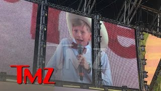 Yodeling Kid Mason Ramsey Performs at Coachella | TMZ - Video Youtube