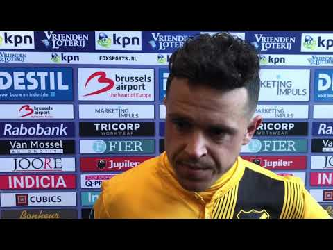 Reactie Giovanni Korte na Willem II - NAC