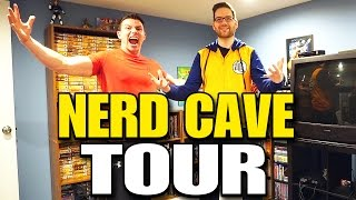 Chris Stuckmann's EPIC MAN CAVE Basement Tour!