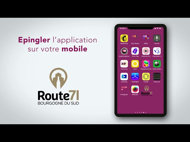 Comment fonctionne l'application Route71 ?