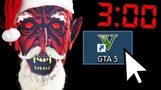 Никогда не запускайте GTA 5 в 3 часа ночи 1 Января, иначе... (Новогодняя судная ночь)