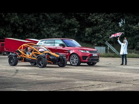 Ariel Nomad vs RR SVR | Top Gear: Drag Races