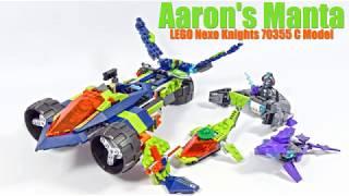 Aaron's Manta - LEGO Nexo Knights 70355 C Model
