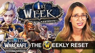 The Battle For Azeroth Week 1 Guide! The Azshara Mystery & Why Anduin Is Rubbish
