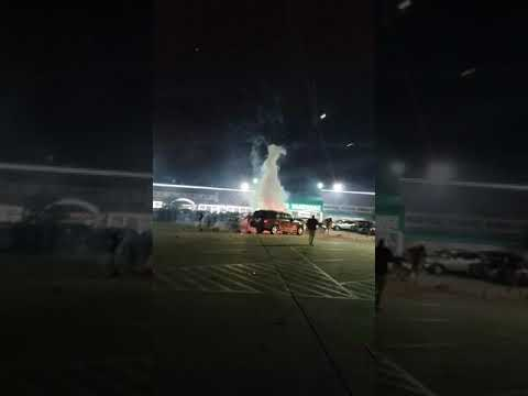 (CAR ON FIRE) 2018 Houston Fireworks Mishap
