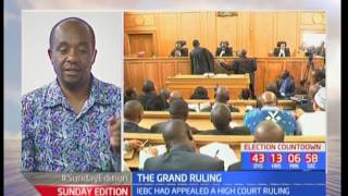 The Grand Ruling: Constituency results to be final