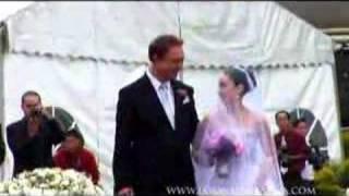 claudine barretto wedding...