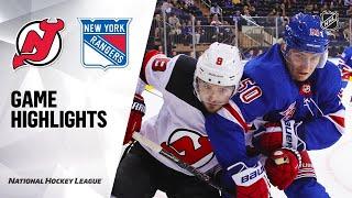 09/18/19 Condensed Game: Devils @ Rangers