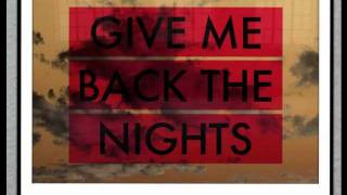 Give me back the Nights -dj shadow (REMIX By Low Budget)