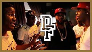 HITMAN HOLLA & AYE VERB VS DNA & K-SHINE | Don't Flop Rap Battle
