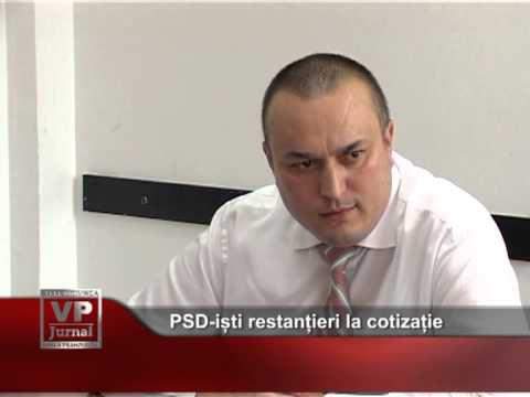 PSD-iști restanțieri la cotizație