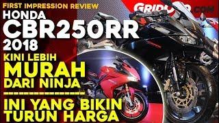 Honda CBR250RR 2018 Termurah l First Impression Review l GridOto