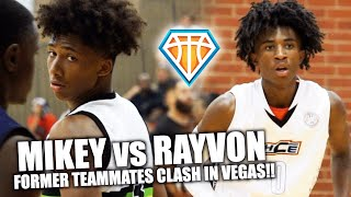 MIKEY WILLIAMS vs RAYVON GRIFFITH in Las Vegas!! | These TOP5 8th Graders USED TO BE TEAMMATES