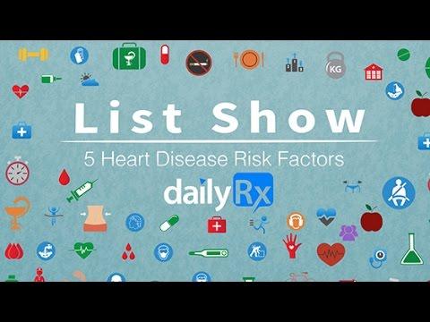 Video List Show - 5 Heart Disease Risk Factors