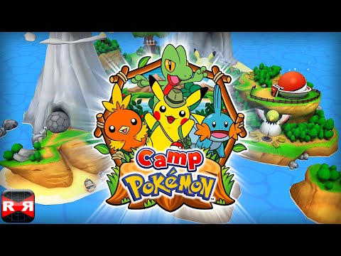 Camp Pokémon (By THE POKEMON COMPANY INTERNATIONAL) - iOS - iPhone/iPad/iPod Touch Gameplay