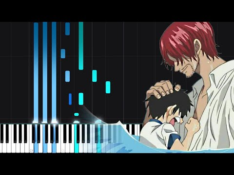 Download Mother Sea - One Piece [Piano Tutorial] (Synthesia) // LucasPianoRoom Mp4 HD Video and MP3