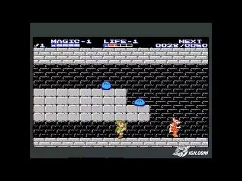 Classic NES - Zelda II - The Adventure of Link (U)(BatMan