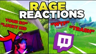 Killing Fortnite Twitch STREAMERS W/ REACTIONS!
