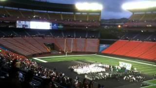 preview picture of video '2012 Aiea High School Stadium Graduation -- Video 01 - Calling Out Tony's Name'