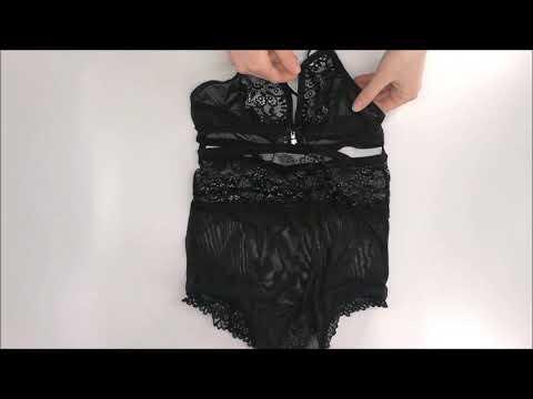 Elegantní body 838 - TED black - Obsessive