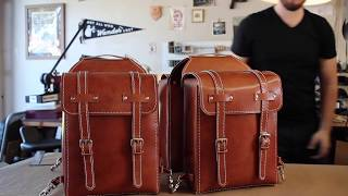 Crafting A Leather Bike Bag