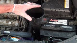 Transmission Drain and Refill Kia Sportage
