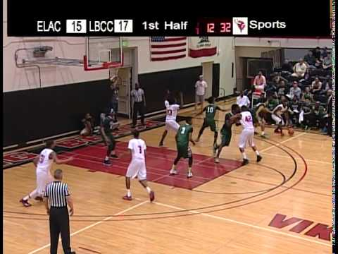 LBCC - Men's Basketball - LBCC vs. ELAC - Mar. 7,  2015 - Part - 1