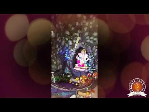 Vinod Sharma Home Ganpati Decoration Video