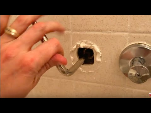 How to repair replace tub water valve Seat - FAST & EASY!