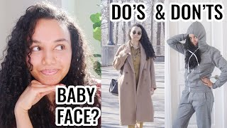 How to Look Your Age WITH A BABY FACE