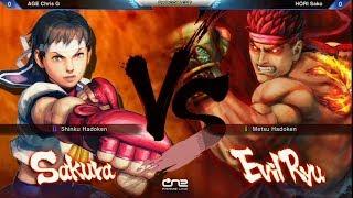 Chris G (Sakura) vs Sako (Evil Ryu) - Capcom Cup 2013 SSF4: AE Ver. 2012